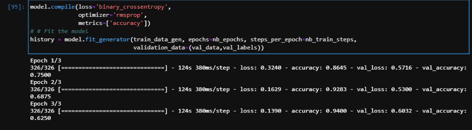 Image Classification Python_Binary Cross Entropy