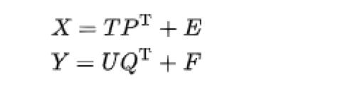Partial Least Square Regression Analysis Equation
