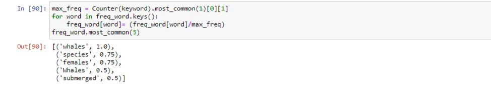 Text Summarization Algorithms