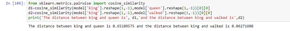 Word Embeddings Python