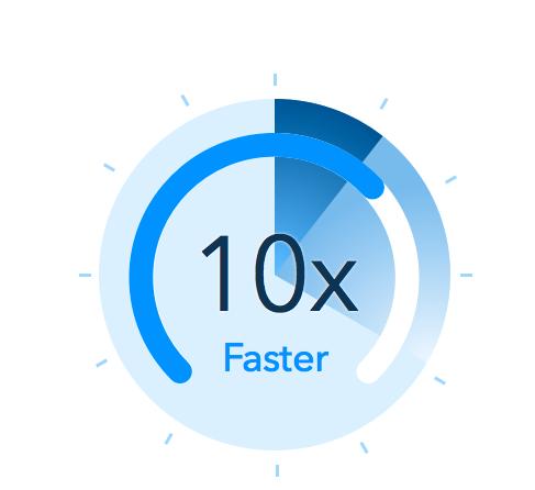 Node.js is fast