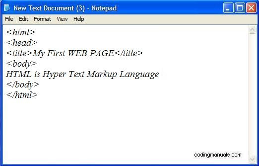 HTML5 Language for Web Development