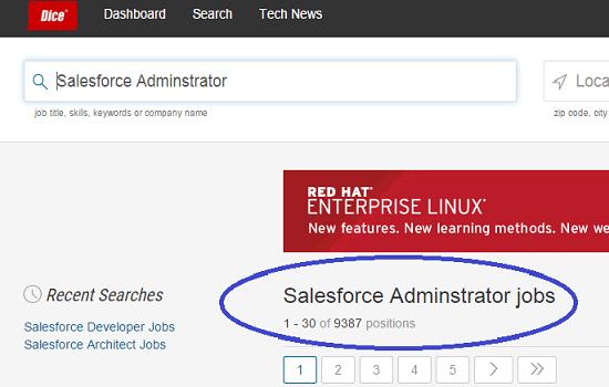 Salesforce Administrator Jobs