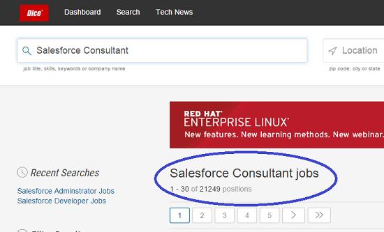 Salesforce Consultant Jobs