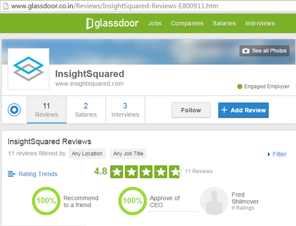 Big Data Analytics Companies- InsightSquared
