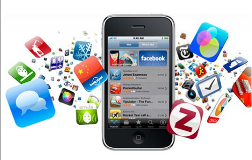 Browser based interaction overtaken by dedicated mobile applications