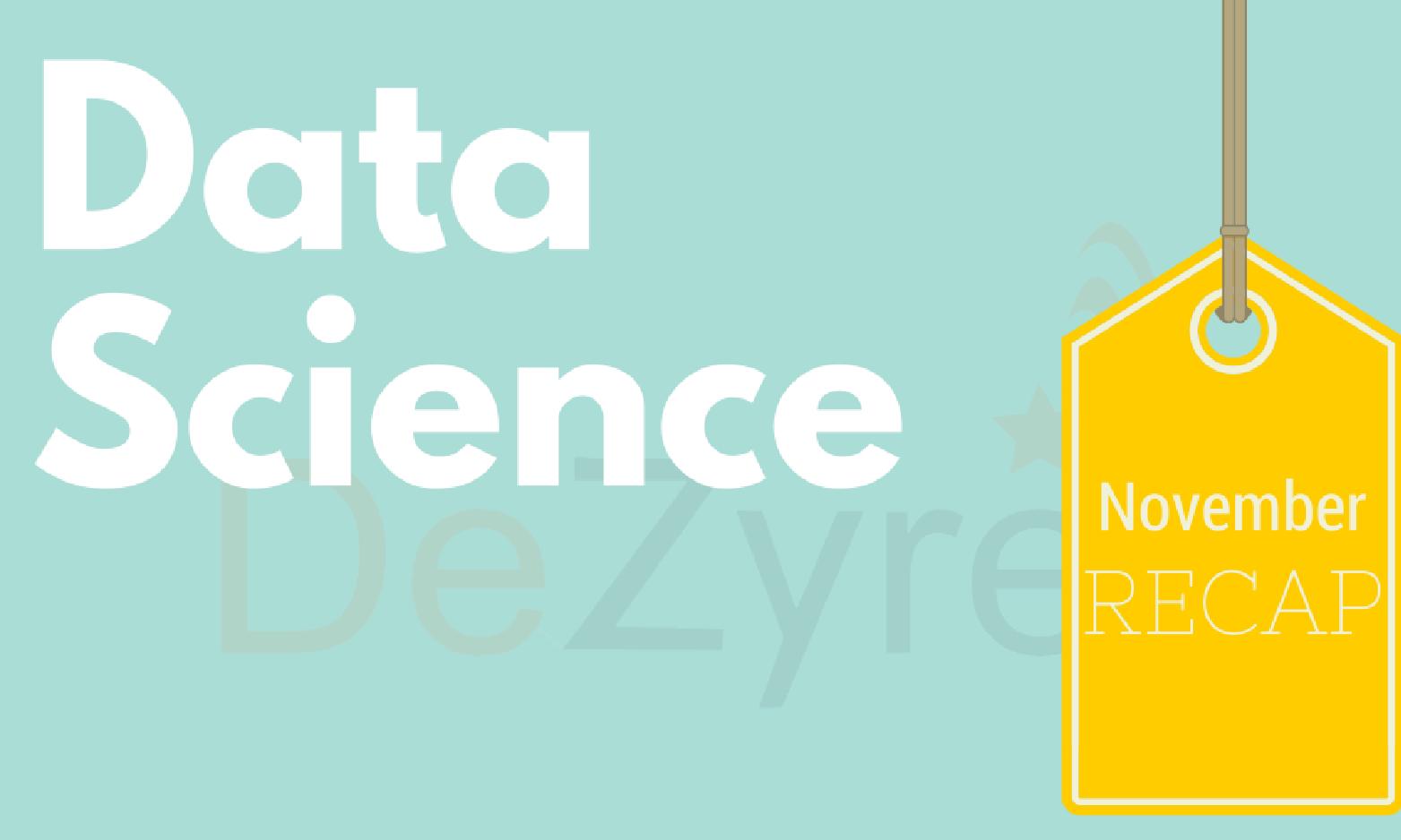 Data Science News November