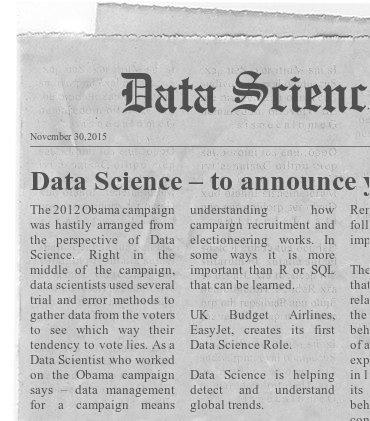 November Data Science News