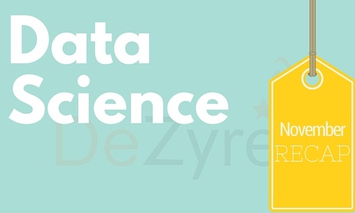 Data Science November News
