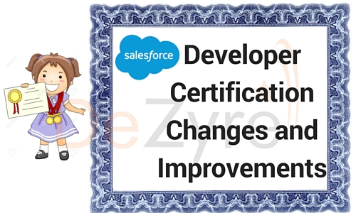 Salesforce Certification Changes and Improvements