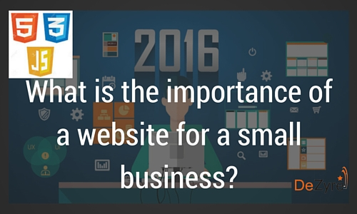 Importance of a Website for a Small Business
